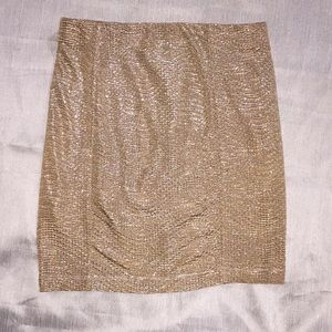 Guess Mini skirt Gold